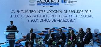 Cámara de Aseguradores de Venezuela realiza la XV edición del Encuentro Internacional de Seguros 2013