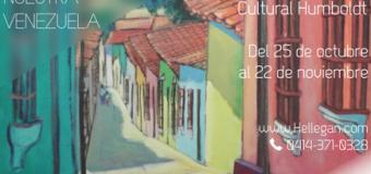 """El 25 de octubre inauguran la exposición """"Rincones de nuestra Venezuela"""""""