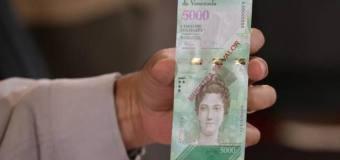 """Venezuela: Estiman que en """"pocos días"""" los cajeros dispensen billetes nuevos"""