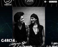 Venezuela: G4rci4 y Cangrejo dicen presente en Ciclo y Aparte