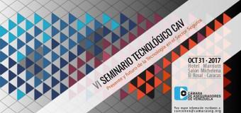 """Venezuela: VI Seminario Tecnológico """"Presente y Futuro de la Tecnología en el Sector Seguros"""""""