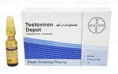 Testoviron Depot Inj 250mg 3Ampx1ml