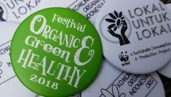 Organic, Green & Healthy Festival 2018 ( OGHFest2018 )  : Main Area – Living World Alam Sutera,  26 – 29 April 2018