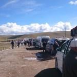 An der mongolisch russischen Grenze