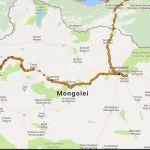 Mein Track durch die Mongolei