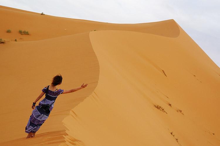 メルズーガ 砂漠