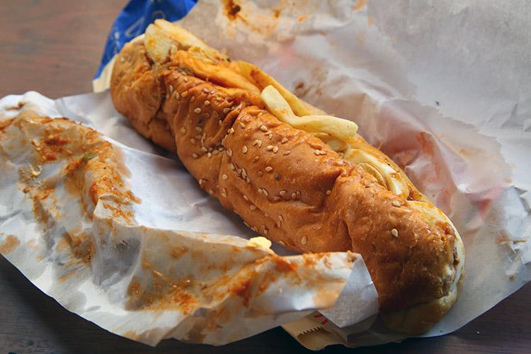 カイロ ケバブ gad サンドイッチ