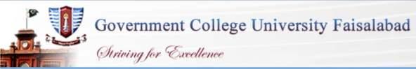 GCU Faisalabad Merit Lists 2016 Undergraduate
