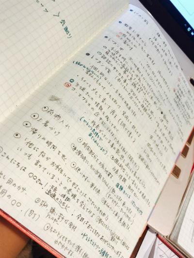 原先生ノート