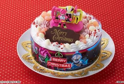 子どもが喜ぶ!仮面ライダーエグゼイドのクリスマスケーキ