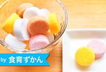 混ぜて型に入れるだけ!シュワシュワおいしい手作り「ラムネ」の簡単レシピ☆