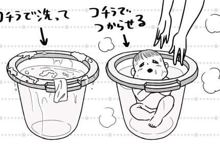 お風呂が苦手な赤ちゃんに。「タミータブ」って知ってる?