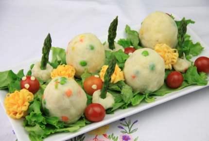 【子どもが喜ぶレシピ】恐竜の卵サラダ