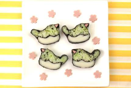子供が喜ぶ!うぐいすの飾り巻き寿司レシピ