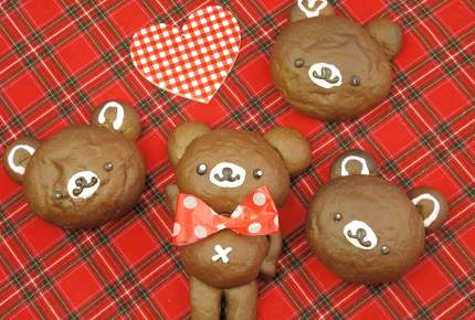 子供が喜ぶ!可愛いチョコクマパン