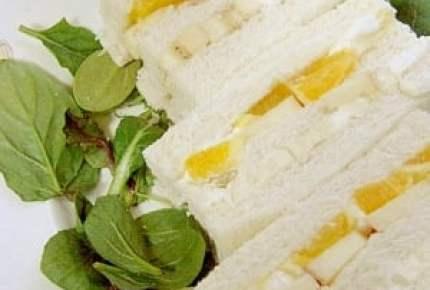 「サンドイッチデー」生クリームにフルーツ、あんこにきなこ…スイーツサンド5選