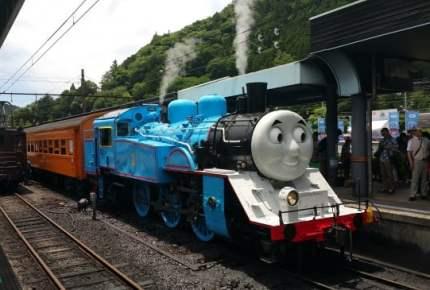 今年がラストチャンス!?大井川鐡道トーマス列車レポ