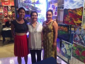 Artiste peintre Mai Huynh, Théâtre Paradoxe, 5 à 7 MTL Uncvered