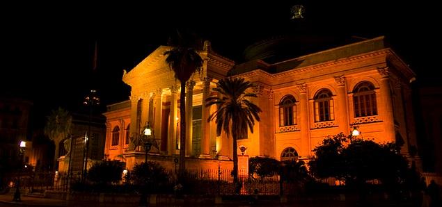 Teatro Massimo, Sicily, Italy