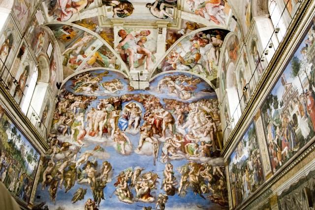 Sistine Chapel, Michelangelo's stunning ceiling fresco