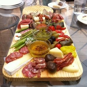 typical italian antipasto platter