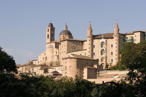 The Renaissance Ducal Palace in Urbino
