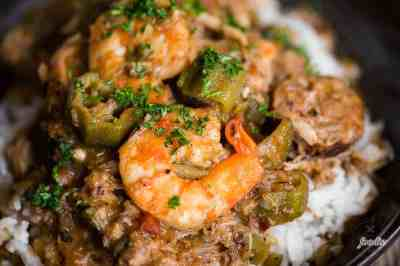 Authentic Seafood Gumbo Recipe | Self Proclaimed Foodie