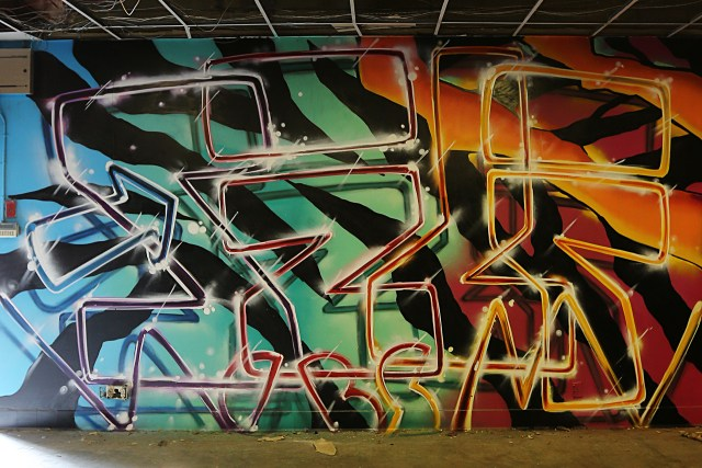 self selfuno graffiti downtown dtla los angeles container yard letters piece january 2015