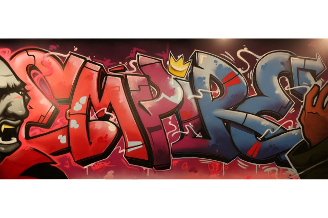 blokhedz mural harvard university hip hop archive commission merkthose selfuno self burner letters comics animation aerosol art february 2015