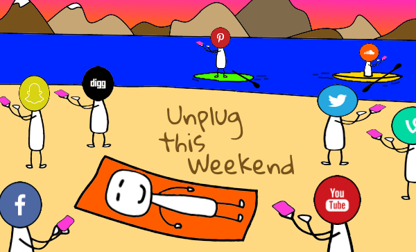unplug this weekend with sellallyourstuff.com