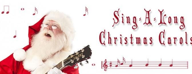 Christmas Sing Along Dec 16th