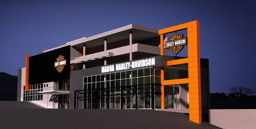Mabua HD showroom baru Harley Davidson Semarang