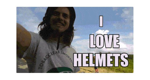 i love helmets