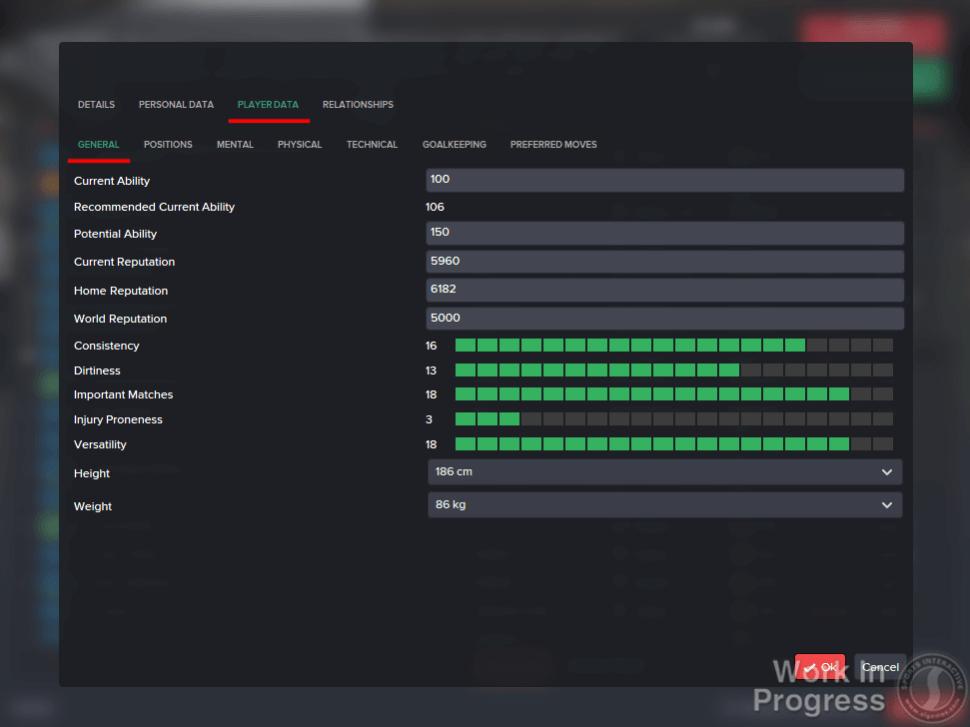 8518 - Create a club - Creating a player