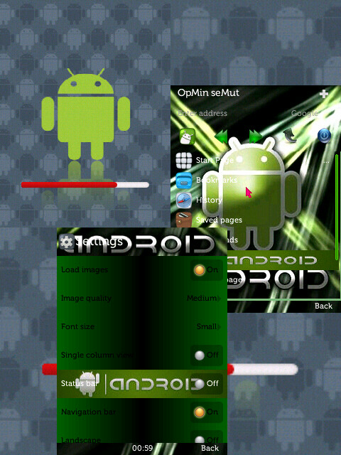 skin OPERA MINI 7.0 android 2