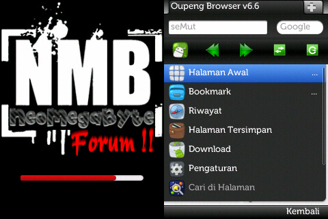 OPERA MINI 7.0 android