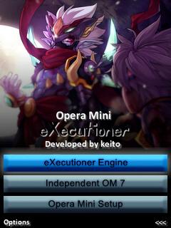 Opera Mini eXecutioner v.1.0 By Keito