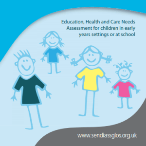 Education, Health and Care Needs Assessment for children in early years settings or at school booklet