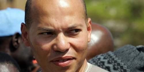 Karim Wade (C), son of Senegalese presid