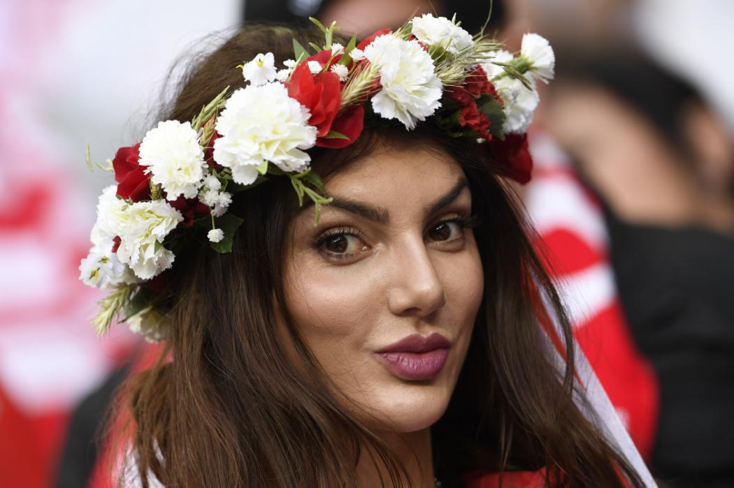 A Poland supporter looks on ahead of the Euro 2016 group C football match between Germany and Poland at the Stade de France stadium in Saint-Denis near Paris on June 16, 2016. / AFP PHOTO / MIGUEL MEDINA