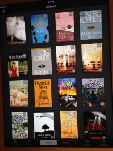 iPad Kindle App