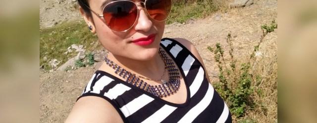 OOTD Monochrome Stripes_Selfie