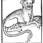 """The """"Leopardus"""" in the 1497 Hortus Sanitatis, De Animalibus Capitulum lxxxi"""