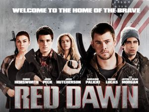 Ooops! Looks like an all-white group of Wolverines in this promo poster. Sorry, Daryl!