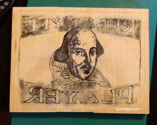 Senseshaper-RenLyfe-Woodcut-Shakespeare-Player-Drawing