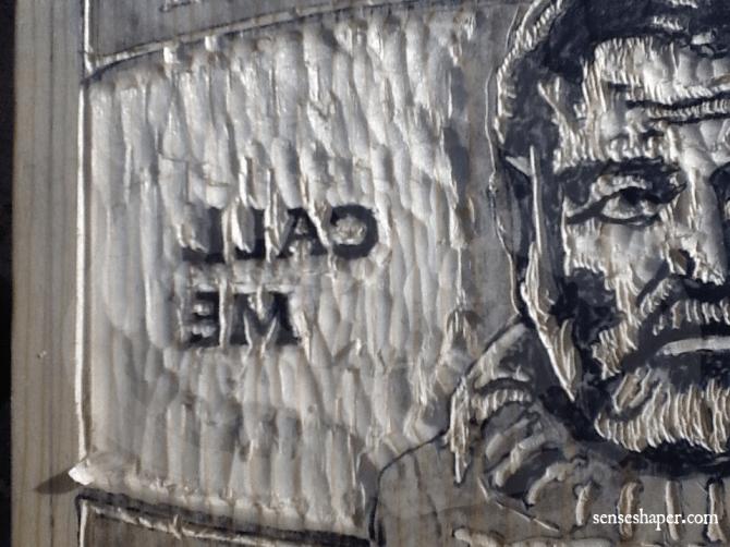 Senseshaper-Woodcut-Hemingway-BigPapa-Detail