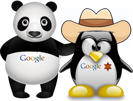 PANDA PENGUIN UPDATE SEO INDIA