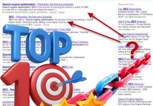 GOOGLE TOP TEN RANKINGS SEO INDIA