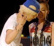 """G-Dragon and Dara say """"Hello"""""""