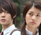 "Pictures from the set of ""Playful Kiss"""